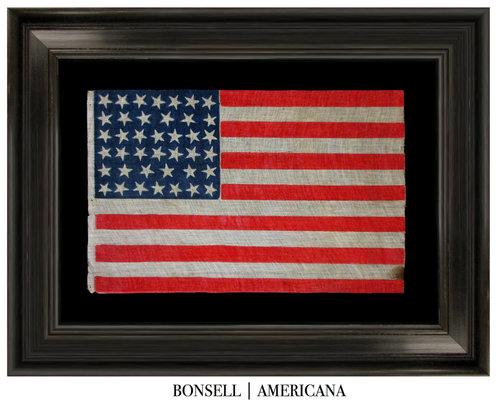 40 Star Antique Economy Flag