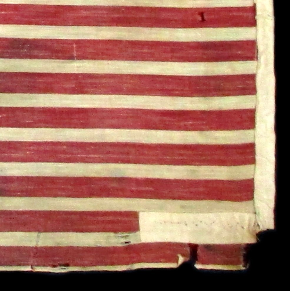 25 Star Antique Flag with a Gusset