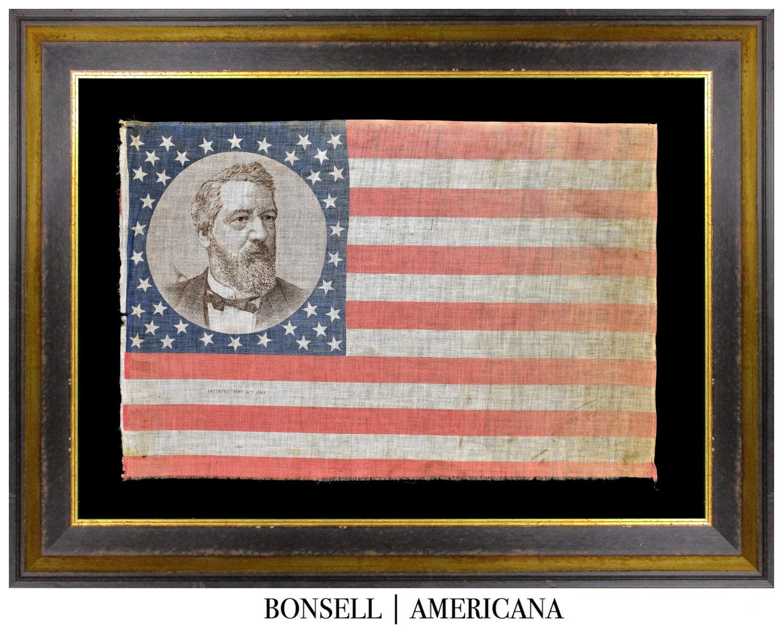 Antique Portrait Flag