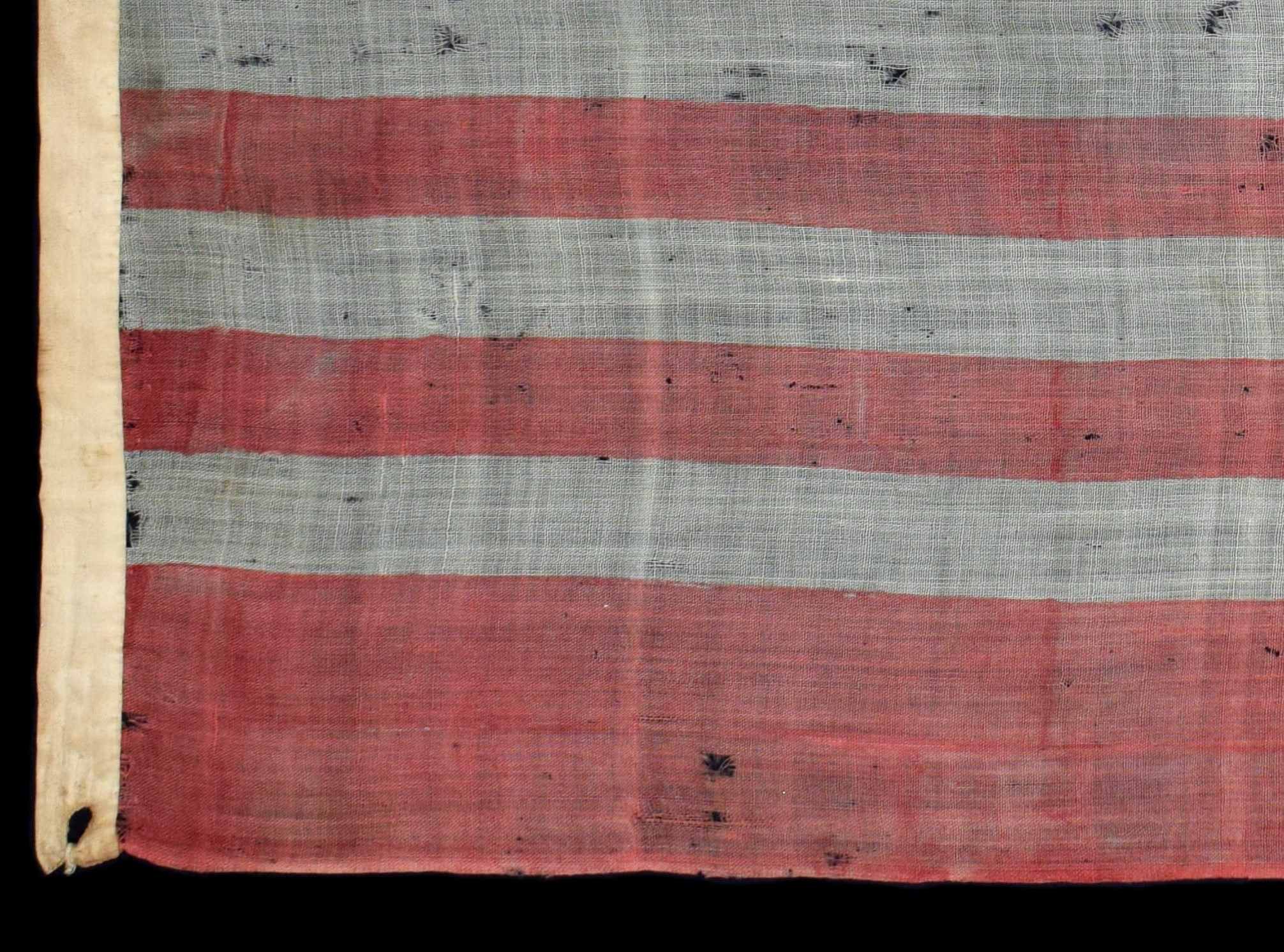 Antique Flag with Whip-stitched Grommets