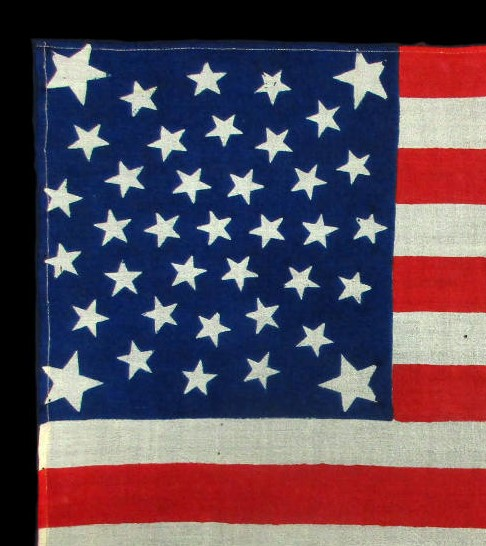 Union of an Antique Flag
