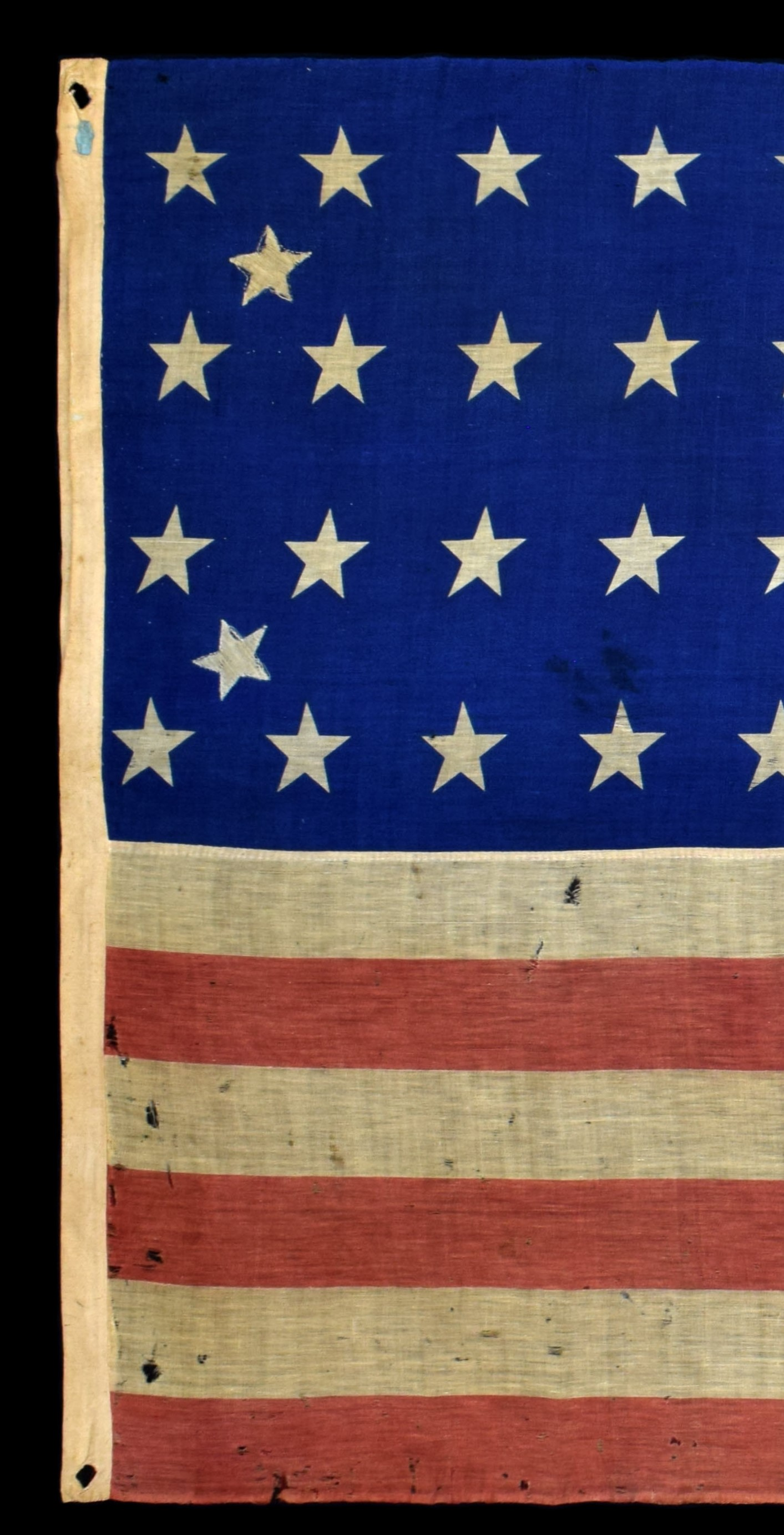 Antique Flag with Heading