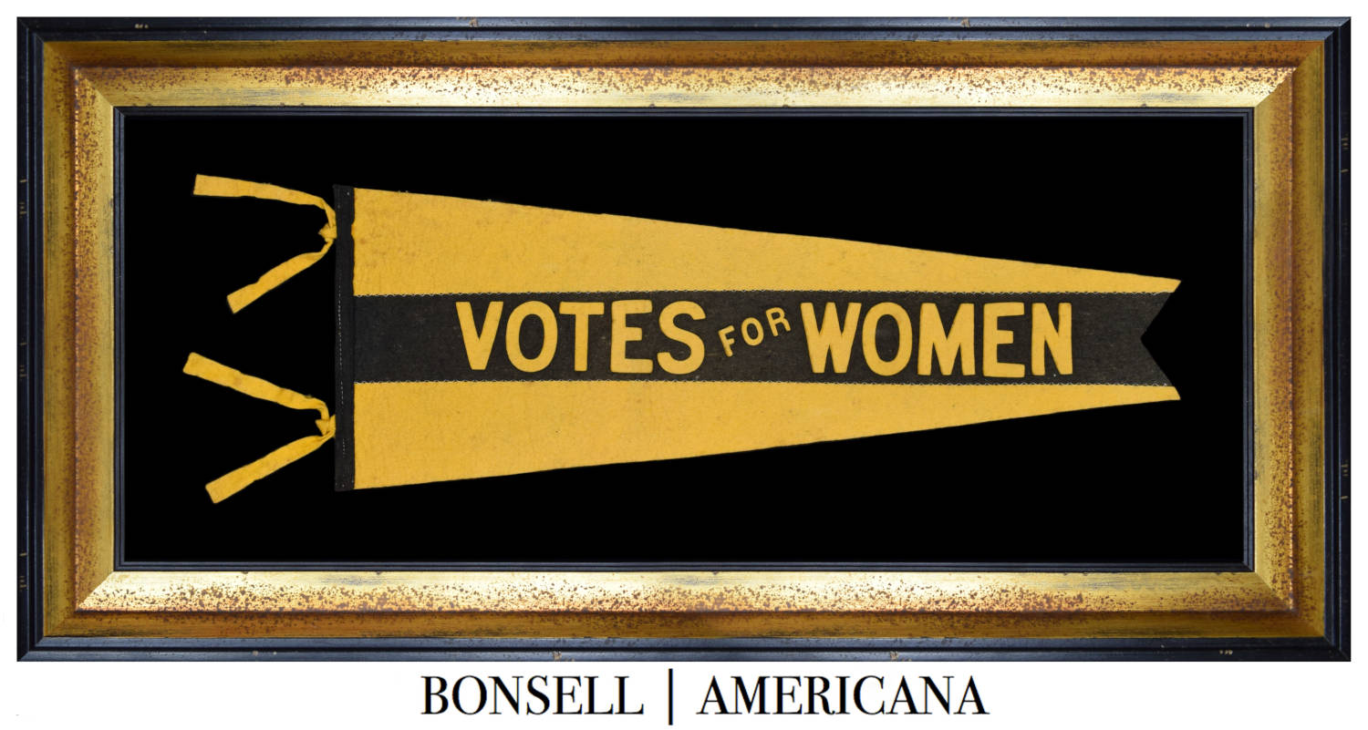Antique Suffragette Pennant