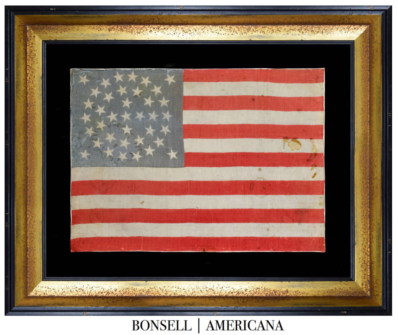 38 Star Antique Flag | Colorado Statehood