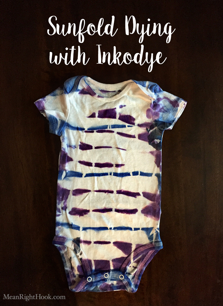 Sunfold Dying with Inkodye by MeanRightHook.com