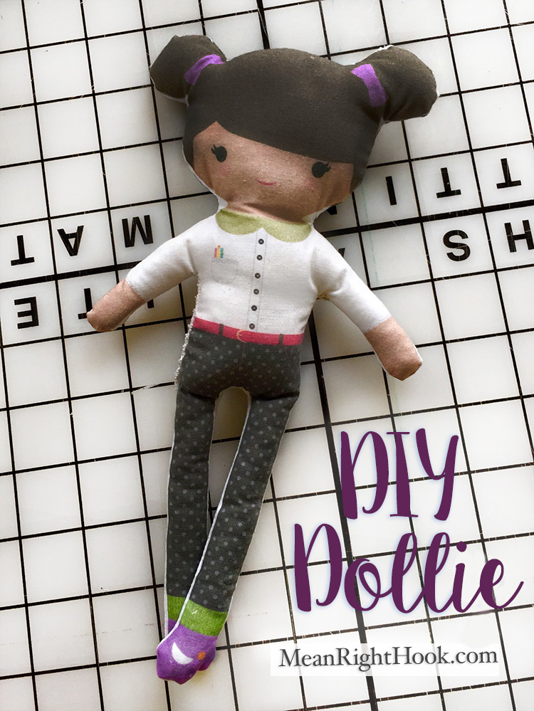 DIY Printable Doll Tutorial | MeanRightHook.com