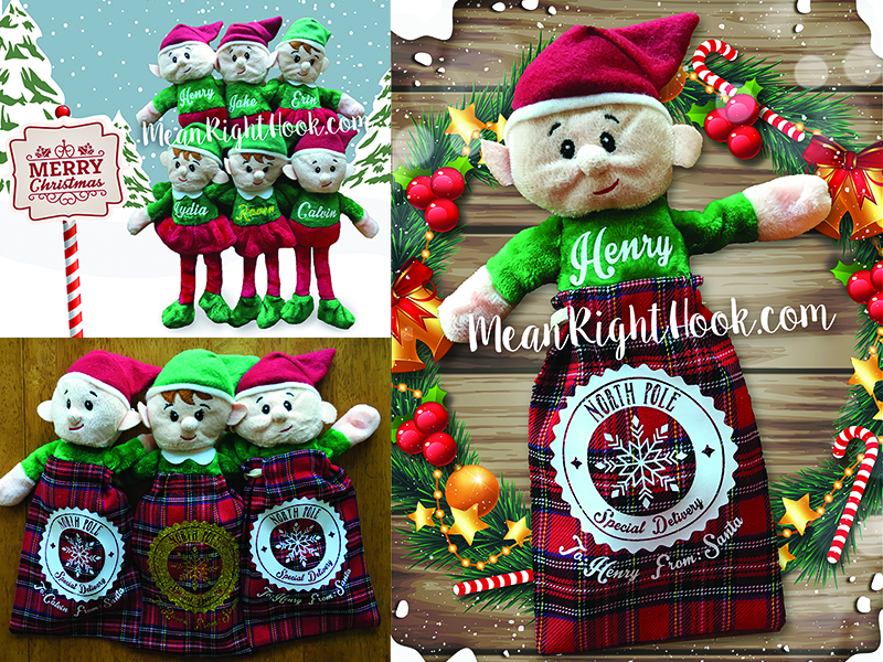 Dollar Store Christmas Elves Craft | MeanRightHook.com