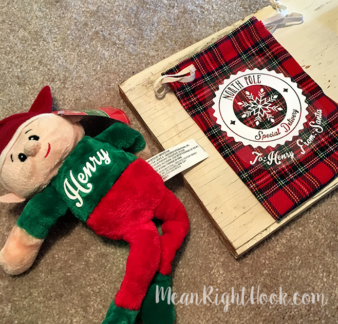 Dollar Store Elf Craft | MeanRightHook.com