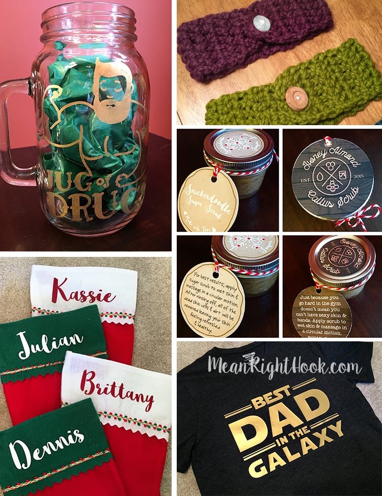 DIY Christmas Gifts by MeanRightHook.com