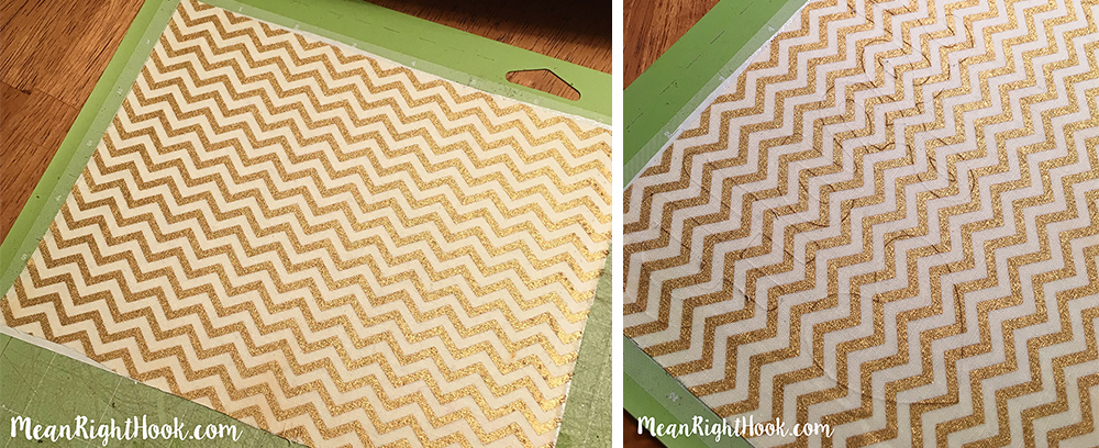 How To Cut Fabric With Your Cricut Explore | MeanRightHook.com