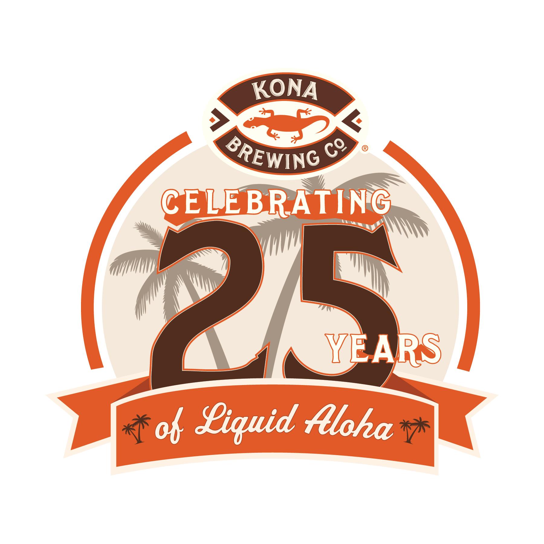 Kona Brewing Company Celebrates 25th Anniversary by Sharing the