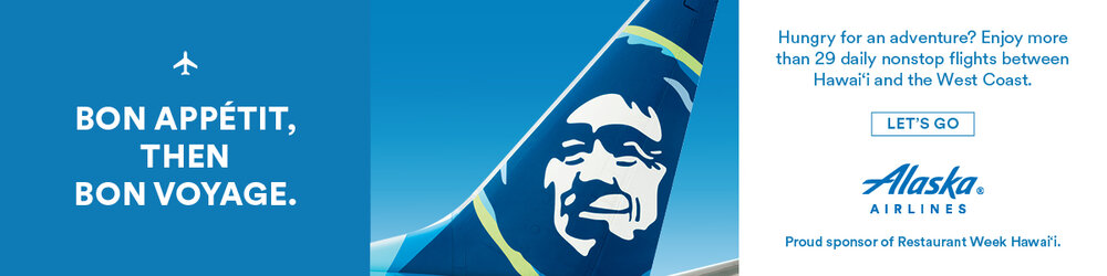 Alaska Airlines, Official Airline of Restaurant Week Hawaii