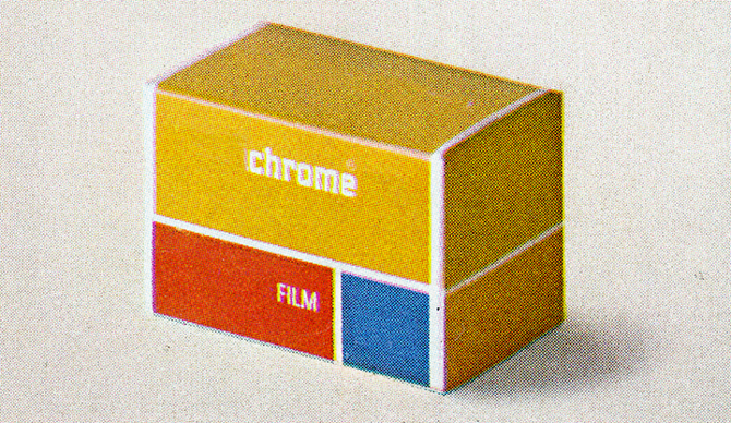 Untitled, (film box), 2011