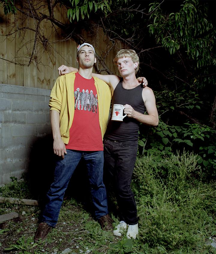 Paul and David. 2008