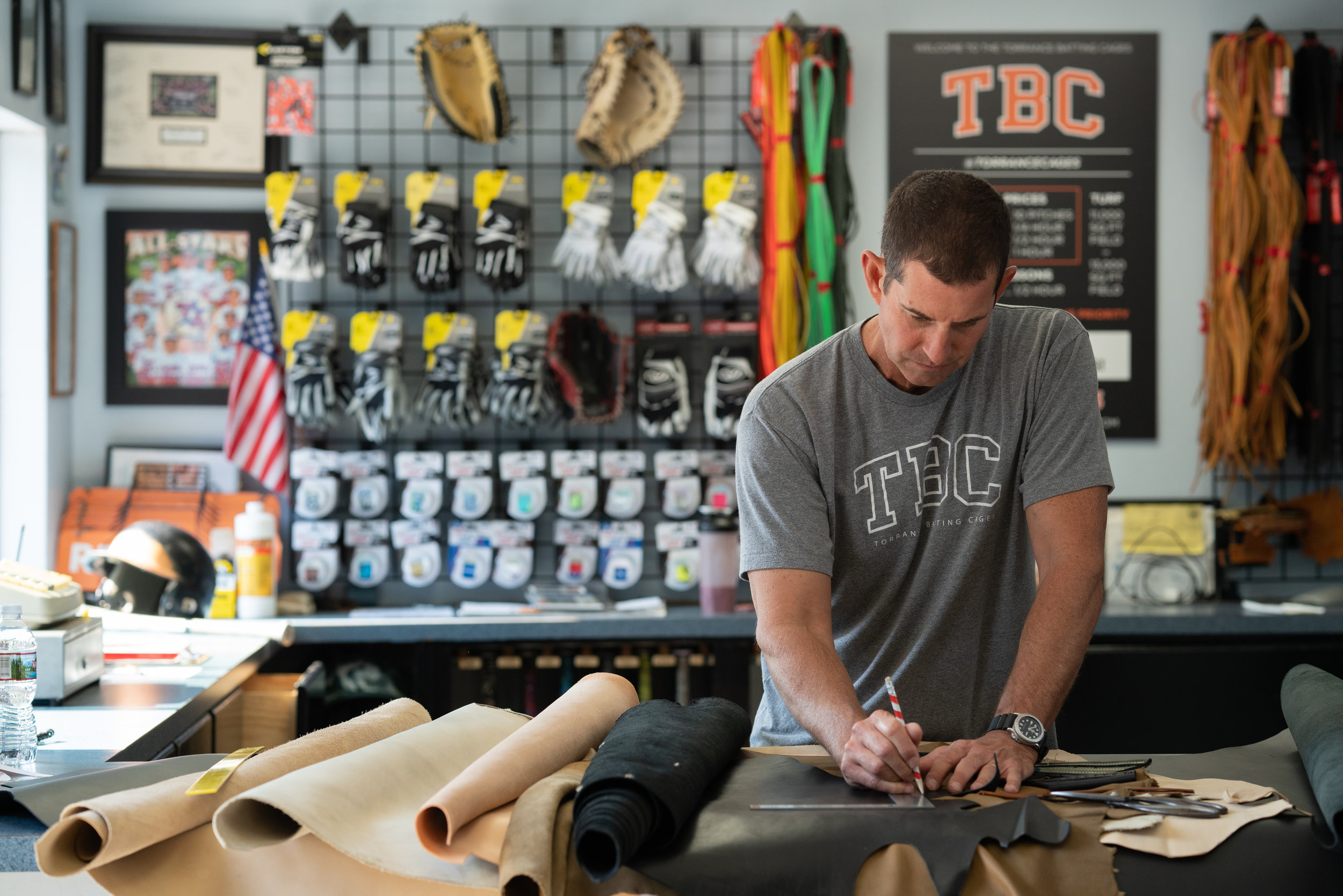 Baseball Glove Repairs - Client