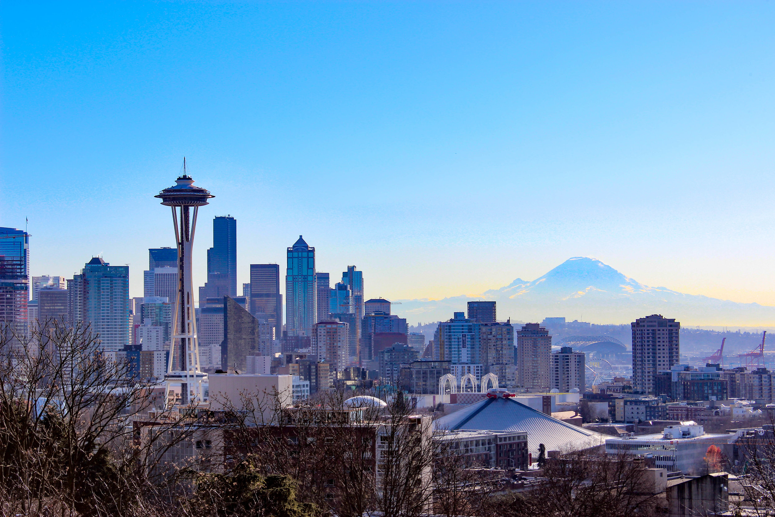 Seattle Skyline - Travel