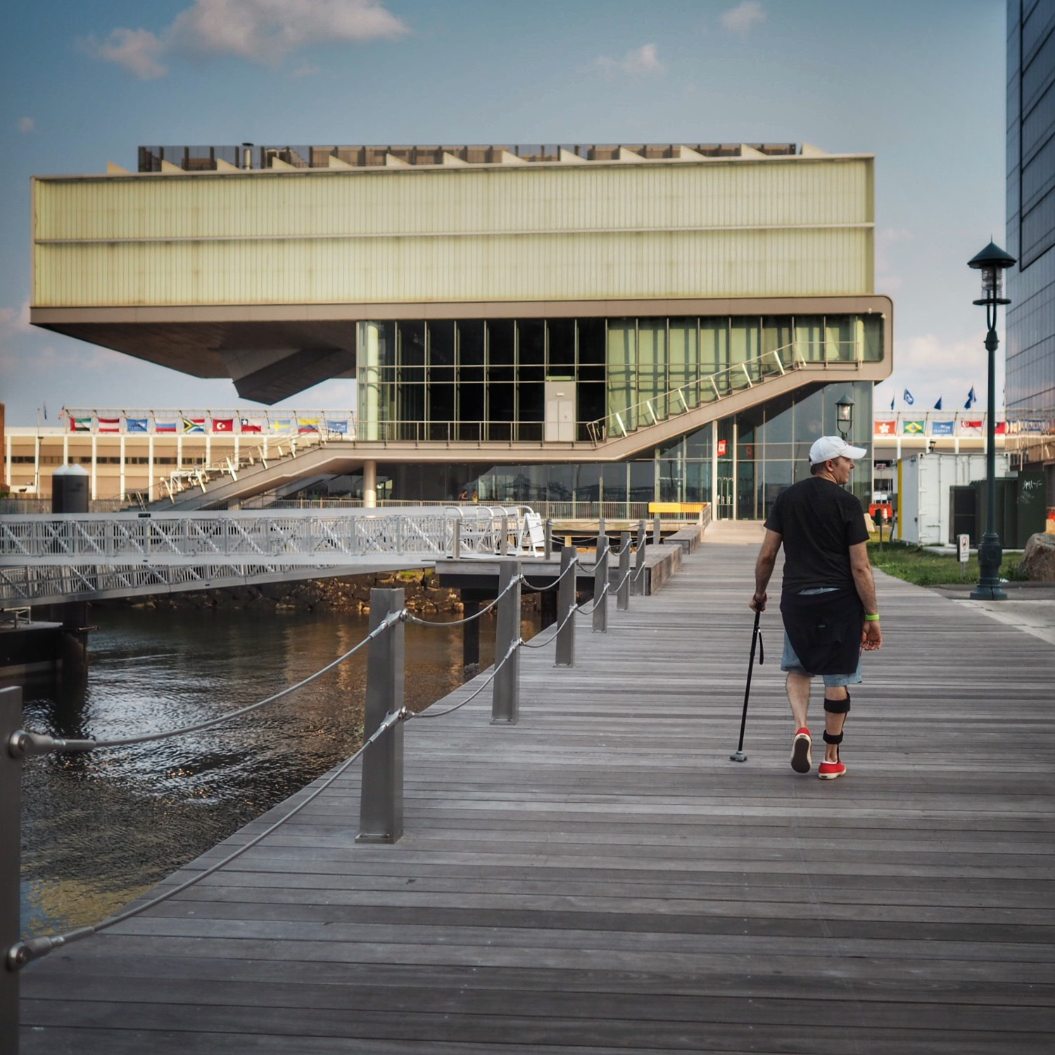 Diller Scofidio + Renfro designed institute of contemporary art is to me a modern marvel.
