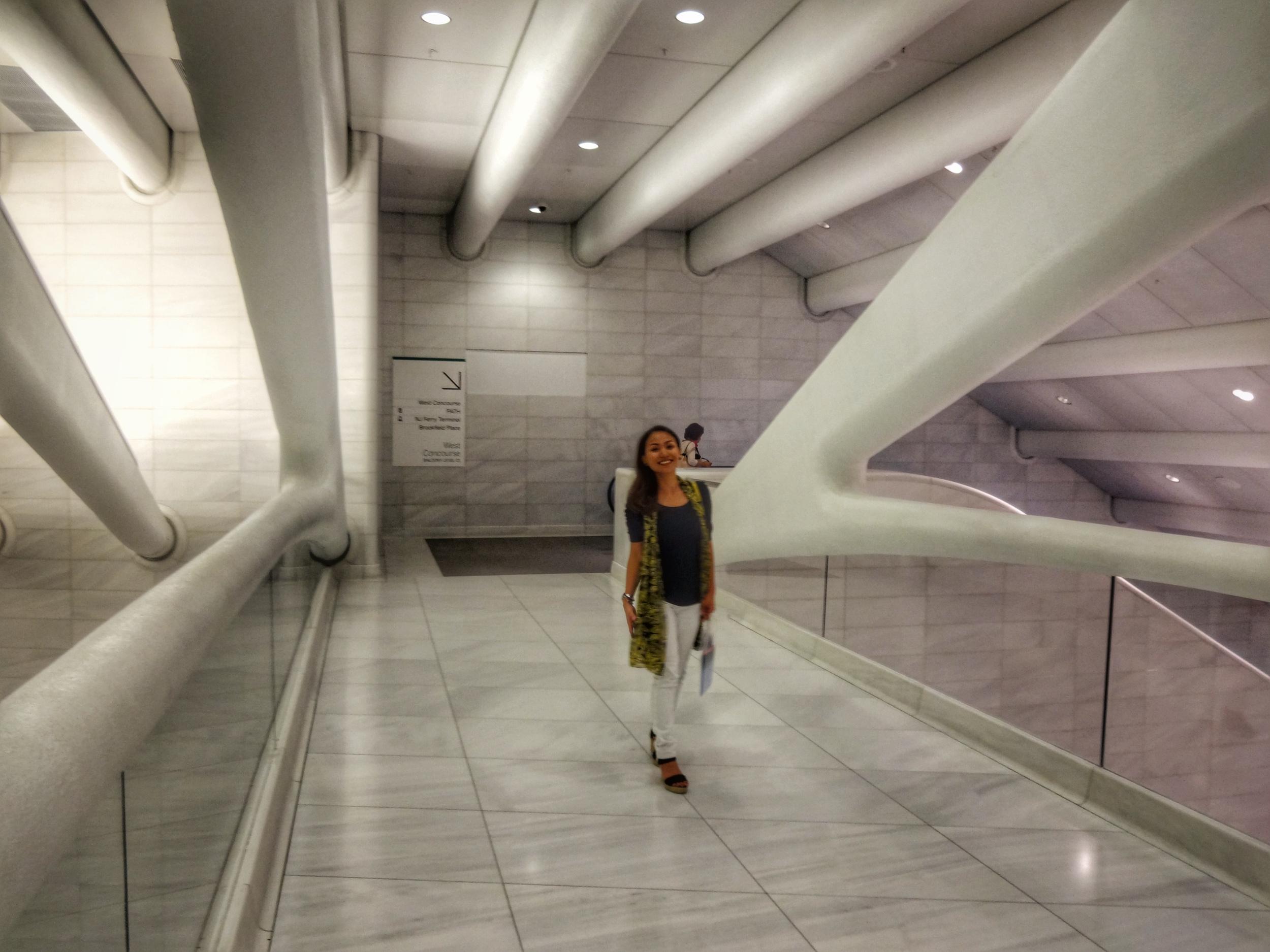 Calatrava and all white everything!