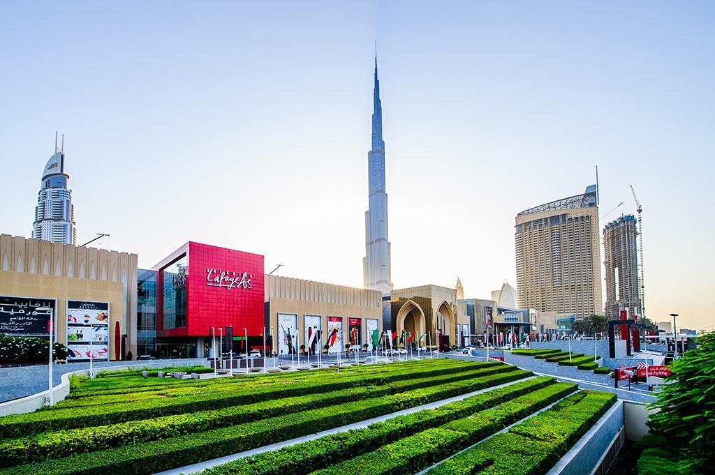 the dubai mall &the burj khalifa: tallest building in the world... so far