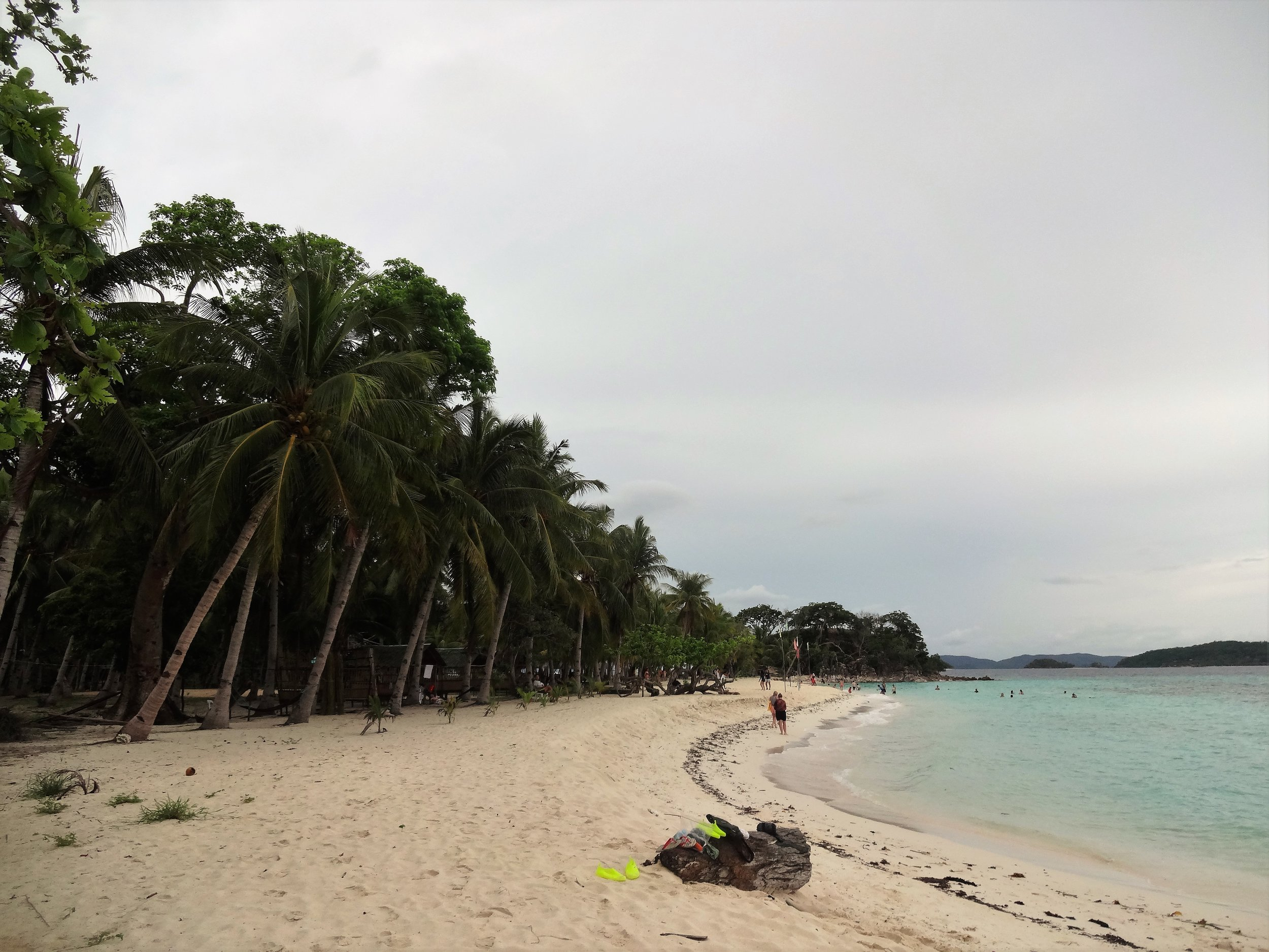 Lovely stroll on Malcapuya Island.