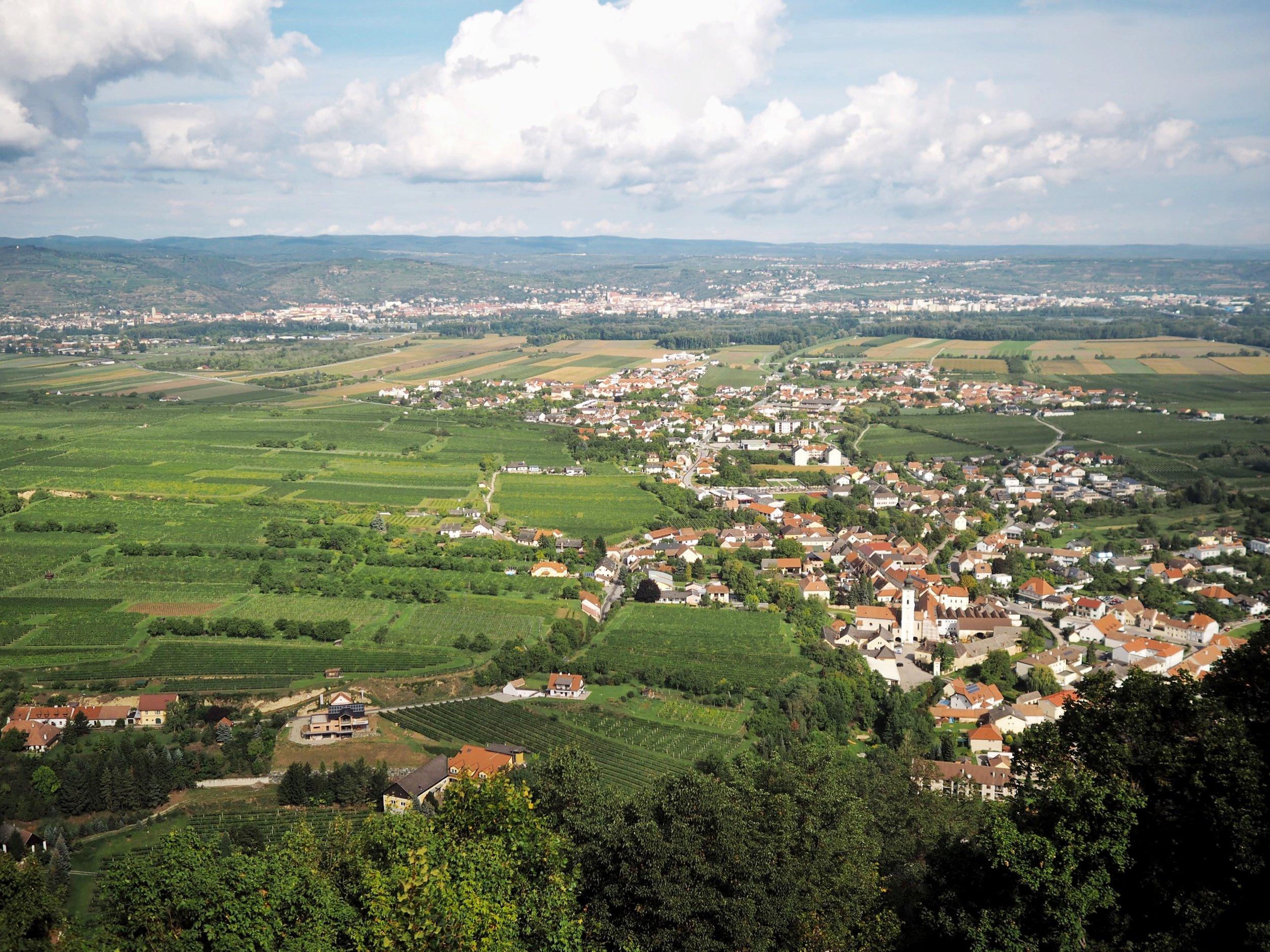 View from the GÖTTWEIG ABBEY, WACHAU VALLEY, AUSTRIA (PHOTO BY BIANCA BUSTOS-VELAZQUEZ)