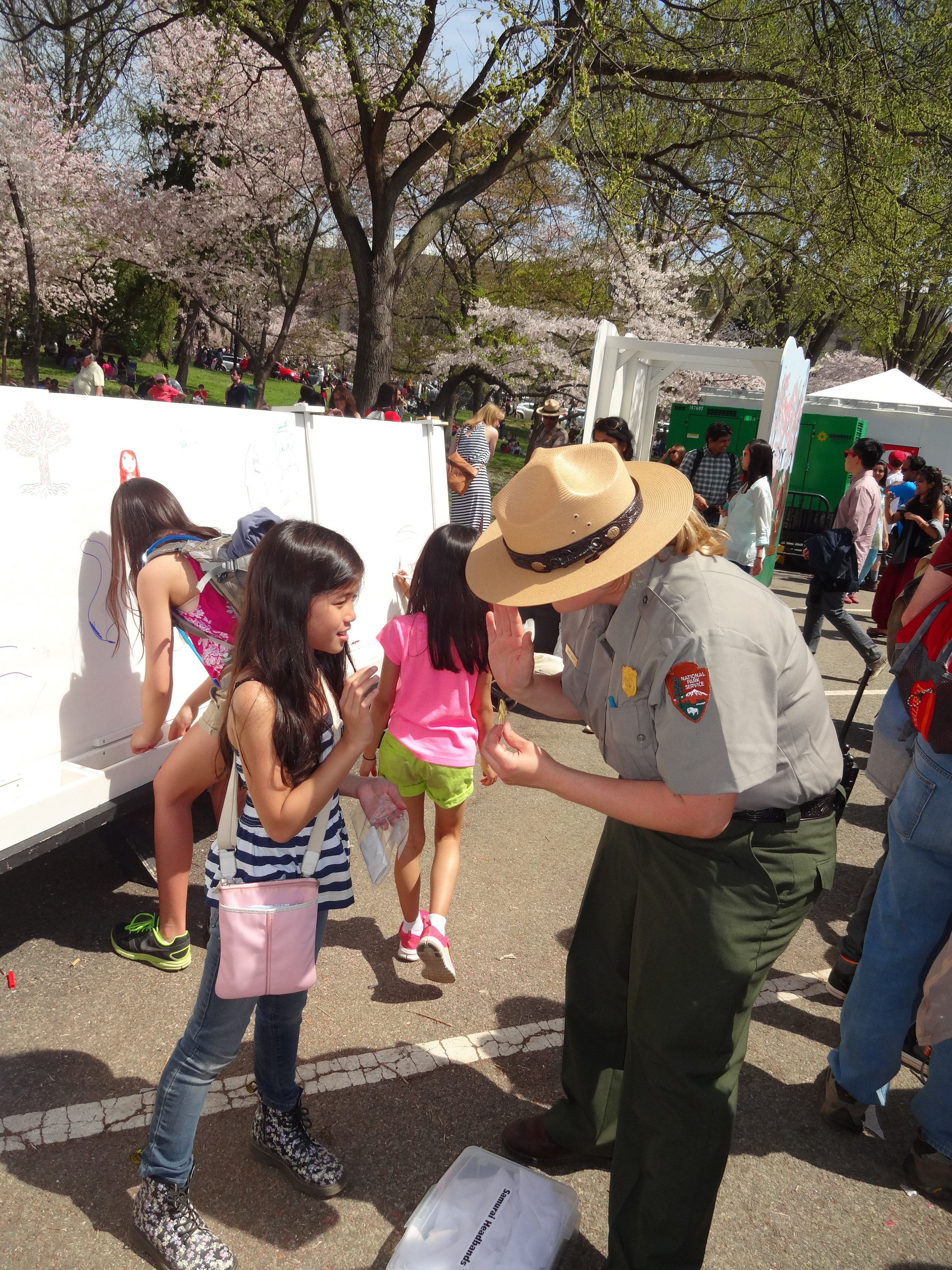 Ranger Games at the National Cherry Blossoms Festival 2014