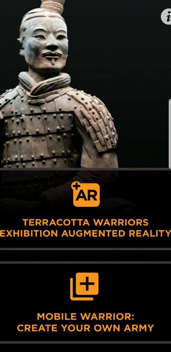 Terracotta Warriors AR app - Get There Get Lost screenshot