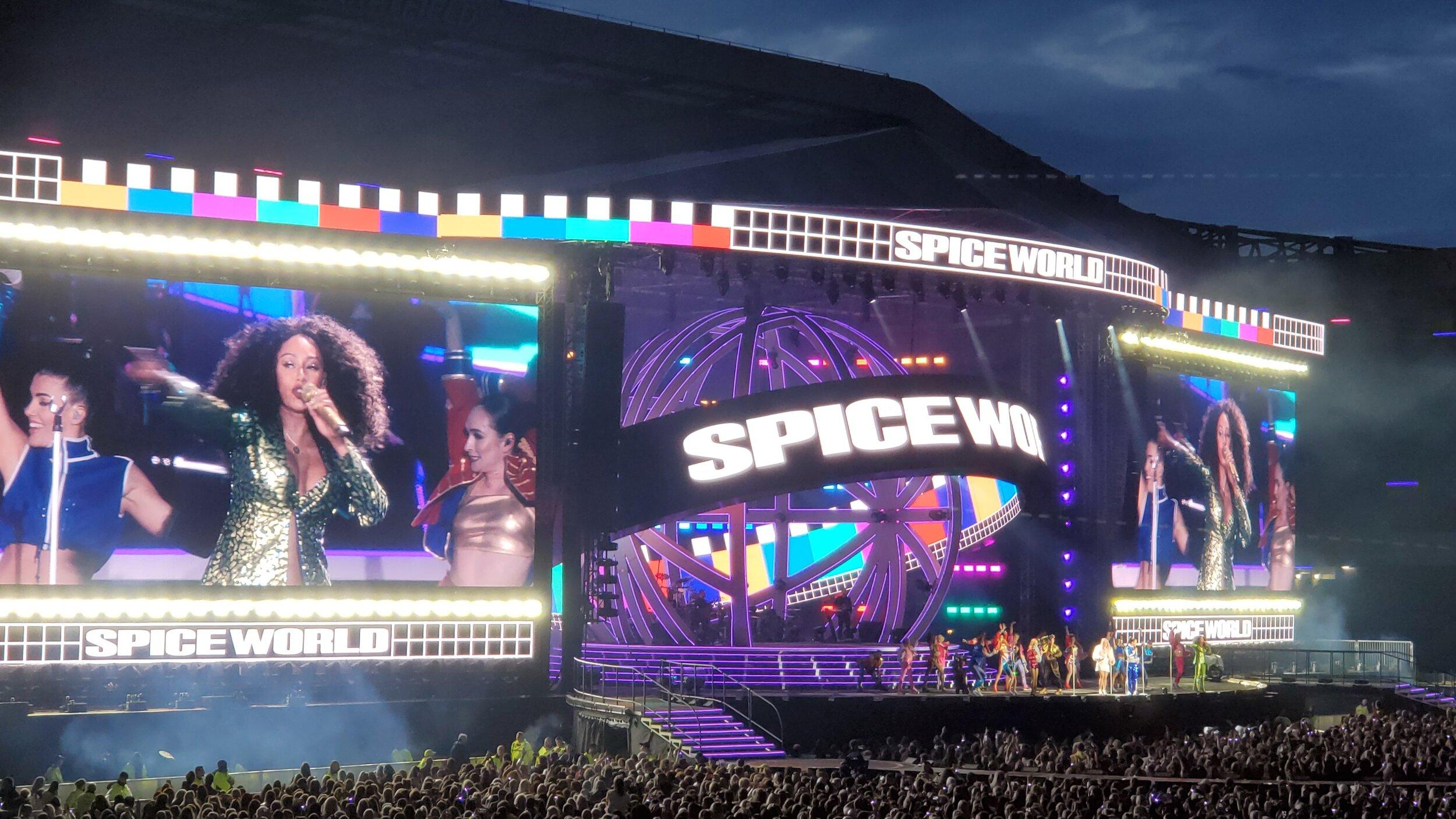 Spice Girls Spice World Reunion Tour, BT Murrayfield Stadium, 08Jun19