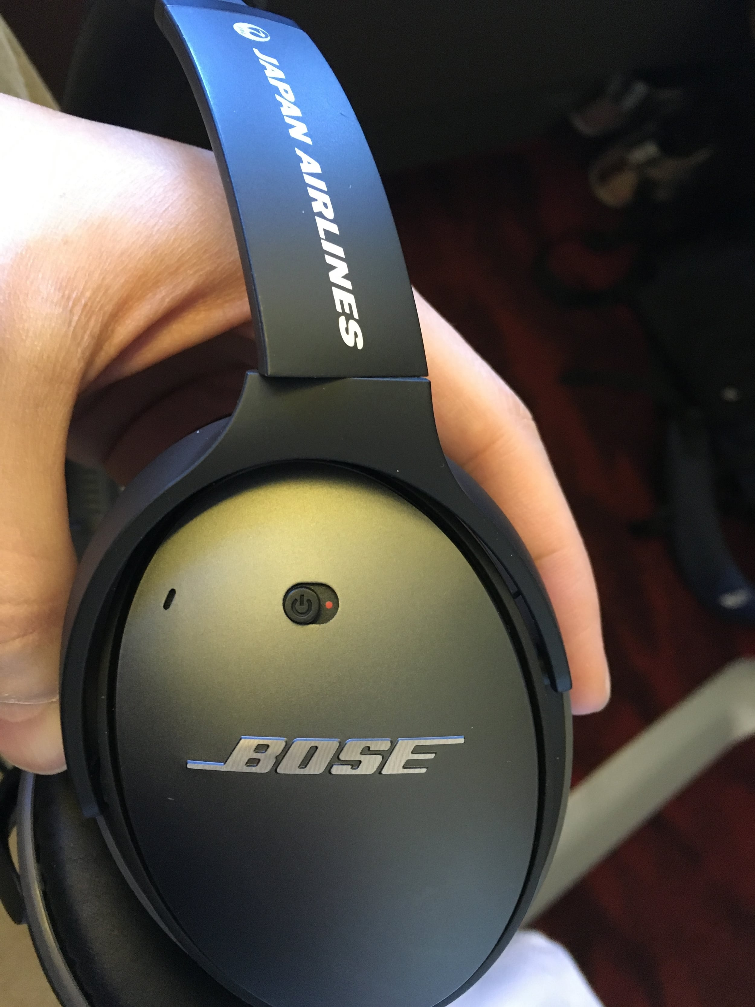 Customized Bose Noise Canceling headphones...makes all the difference.