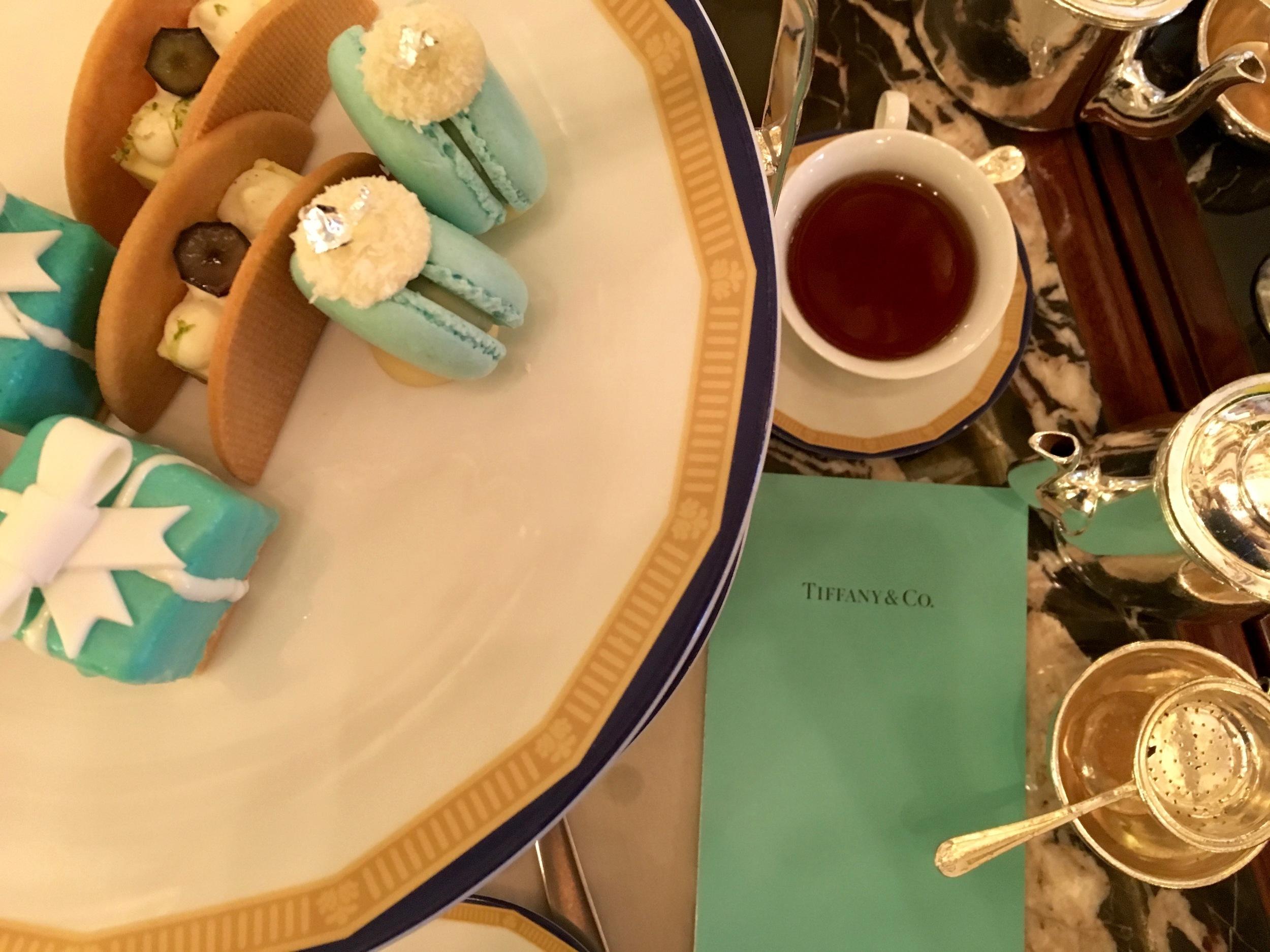 High Tea in the lobby