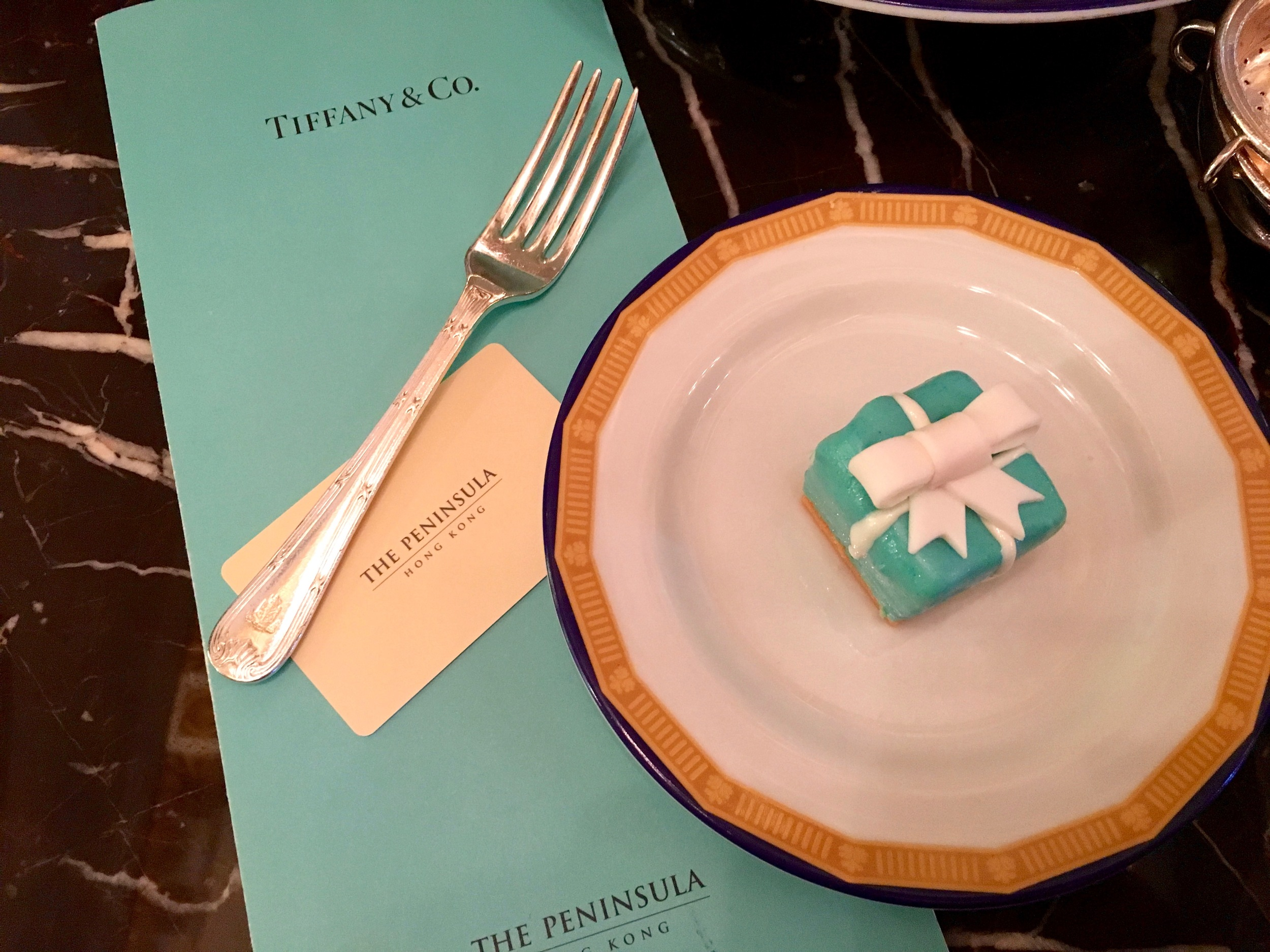 Limited time Tiffany & Co edition high tea...only at the Pen!