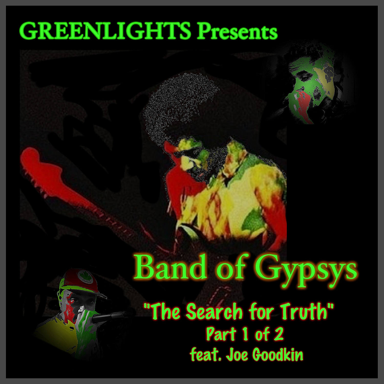 """A Greenlights Music Production   Now on Bandcamp...      //Hear """"The Search for Truth"""" Here//"""