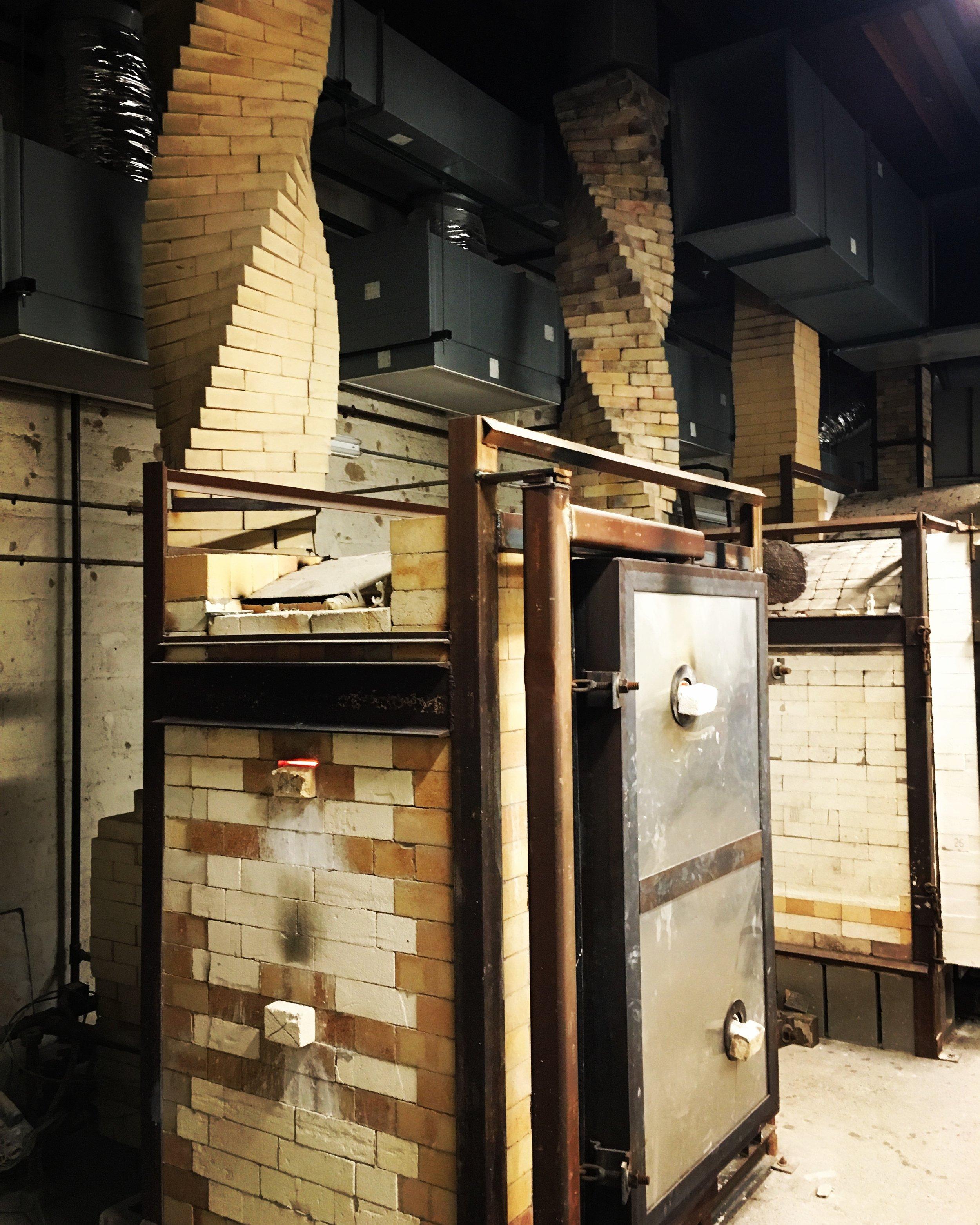 NCC small soda fire kiln