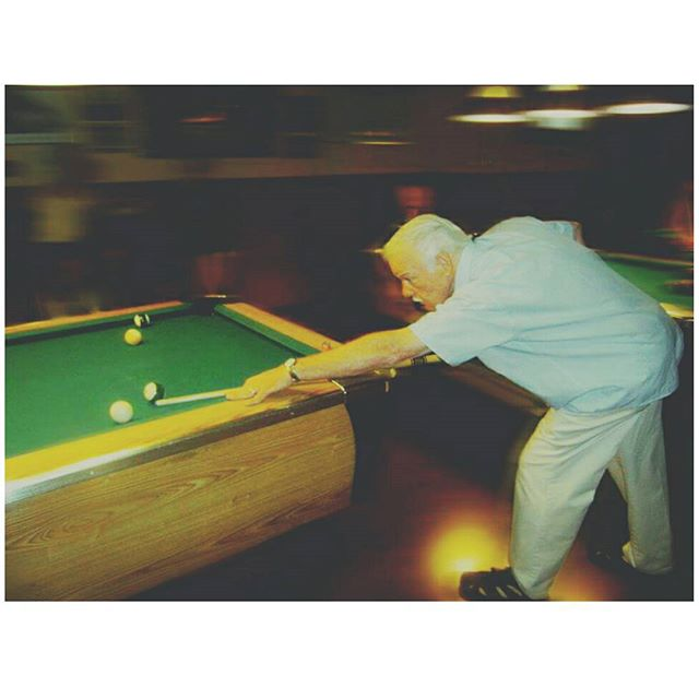 The man, the myth, the legend, Mr. Bill T! #statusq #statusqbilliards #sportsbar #bar #lounge #billiards #pool #brooklyn #newyork #ny #bk #8ball #9ball #10ball #apa #apaleague #poolleague #snooker #shanevanboening #efrenreyes #earlstrickland #beer #brooklyndive #brooklynbar #brooklyndive