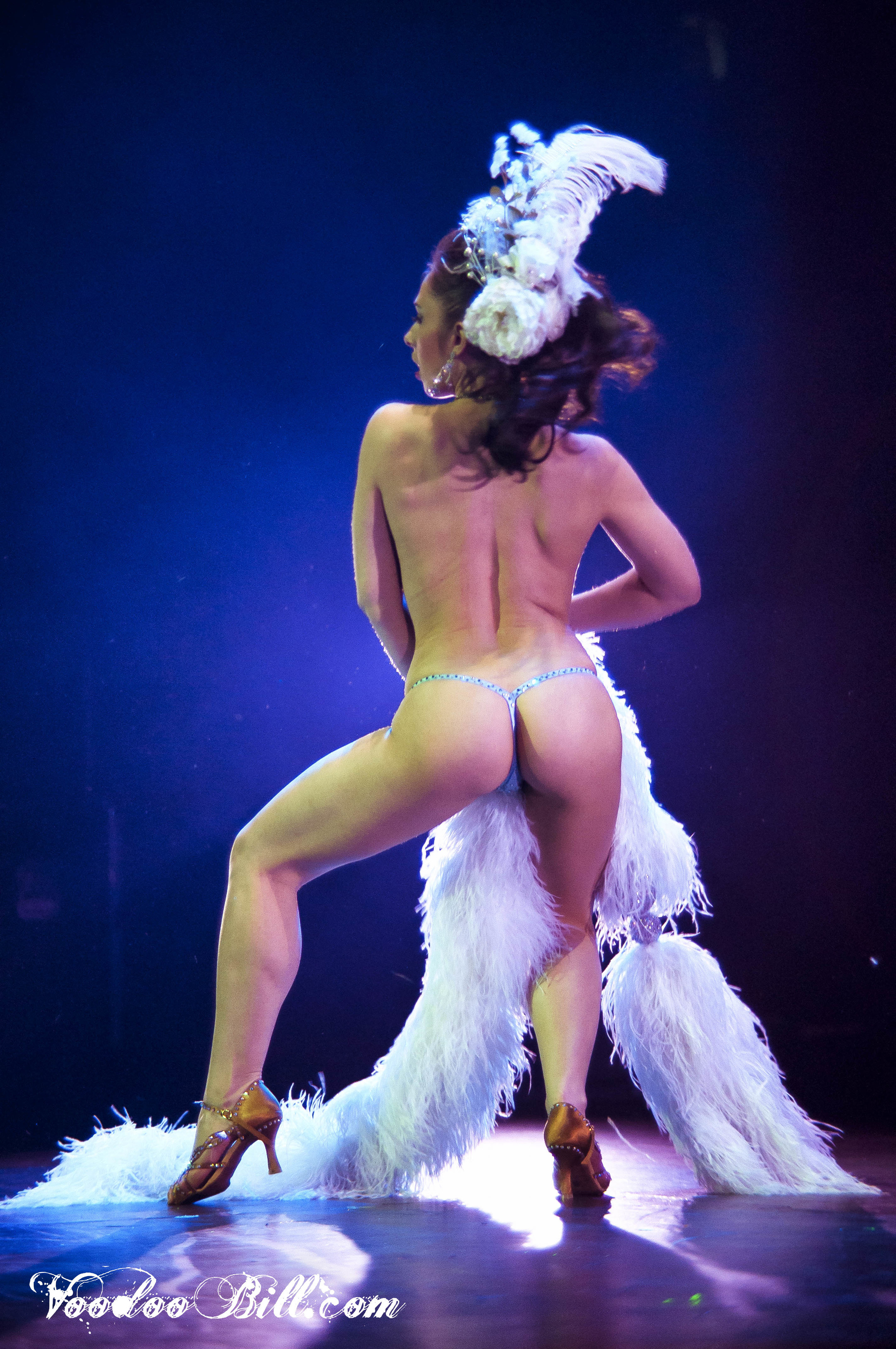 Vancouver International Burlesque Festival photo by Voodoo Bill
