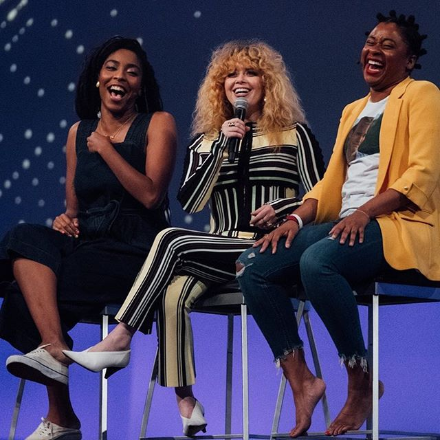 We recently got to photograph these amazing ladies at the 2018 Inbound Conference.  So much fun!!! Can we all take a moment to talk about Natasha Lyonne's outfit?! #swoon The 2 Dope Queens always bring it and this event was no exception!!!⠀ ⠀ ⠀ ⠀ #bamcophoto #bamandcophotography #nyceventphotographer #nyceventphotography #nycevents #documentaryeventphotography #luxuryevents #vipevents #celebrityevents #celebrityeventphotography #inbound2018 #natashalyonne #2dopequeens