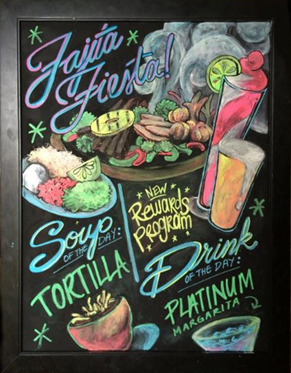 HAND-LETTERING   Chalk, ink, oil, commissioned    |   2014-current