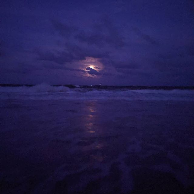 Standing on the first beach I ever remember visiting, Tybee greeted me with a full moon on Friday the 13th. This is my home 💜 the water was warm and the sand was so light, I never want to leave this spot. I traveled from the farthest corner of the country to get here and I'm so grateful for the two week adventure. Somehow, everything feels different now.