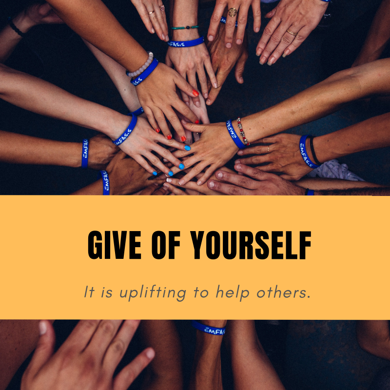 Give of Yourself - Volunteering can have surprising benefits, read this fantastic article about why it's so important to give of ourselves. Read more: http://ow.ly/KPUV50jYq7V