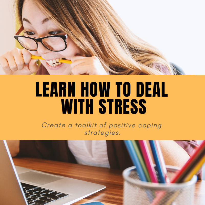 Learn How to Deal With Stress - There are countless ways to deal with stress. Talking with an understanding friend, exercise, yoga, and meditation are all great ways to ease stress and anxiety.Sometimes these techniques may not be possible.Learn how to create your own coping toolkit. http://ow.ly/pVSJ30n1VDW