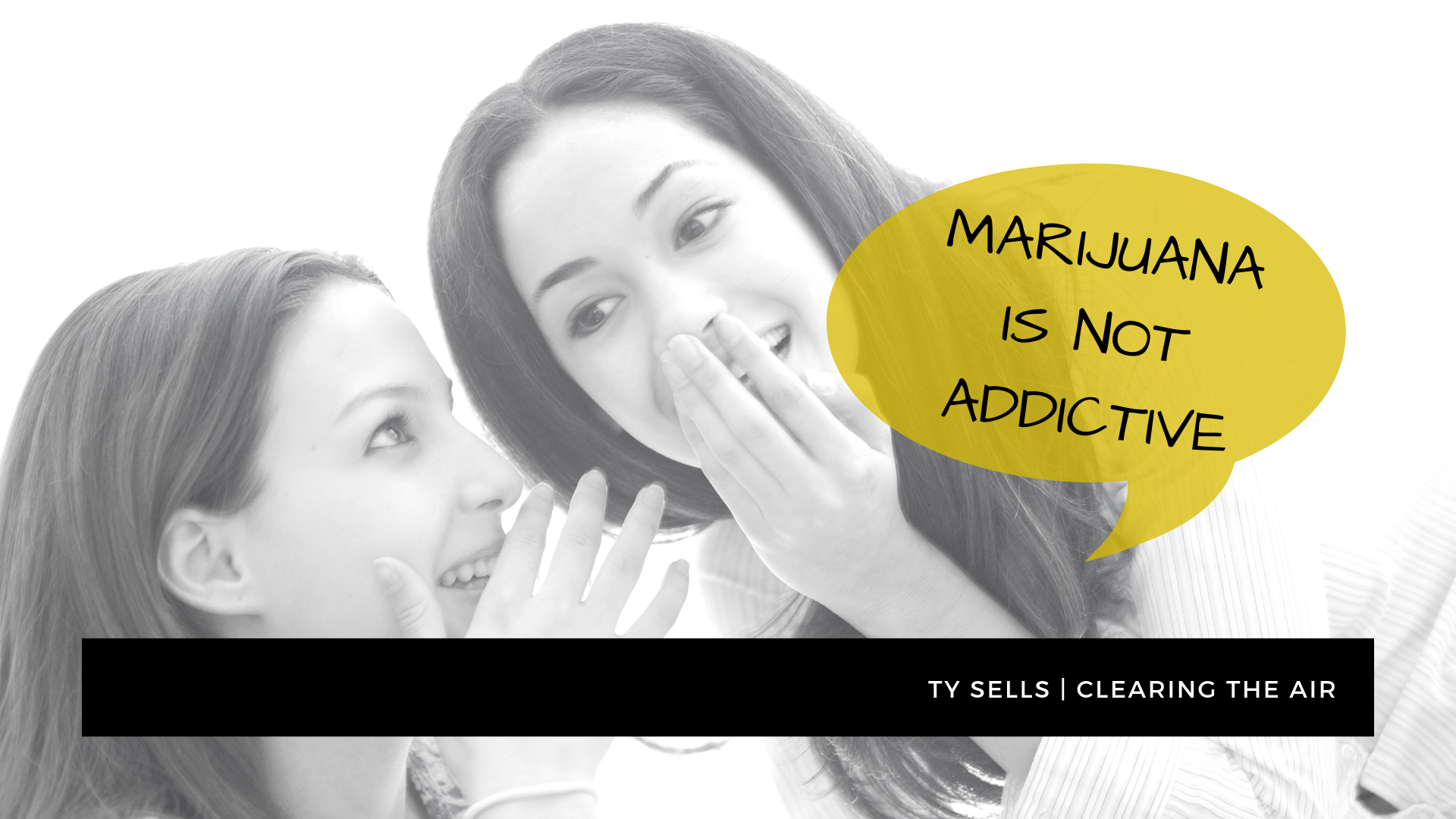 Myth #3: Marijuana is Not Addictive