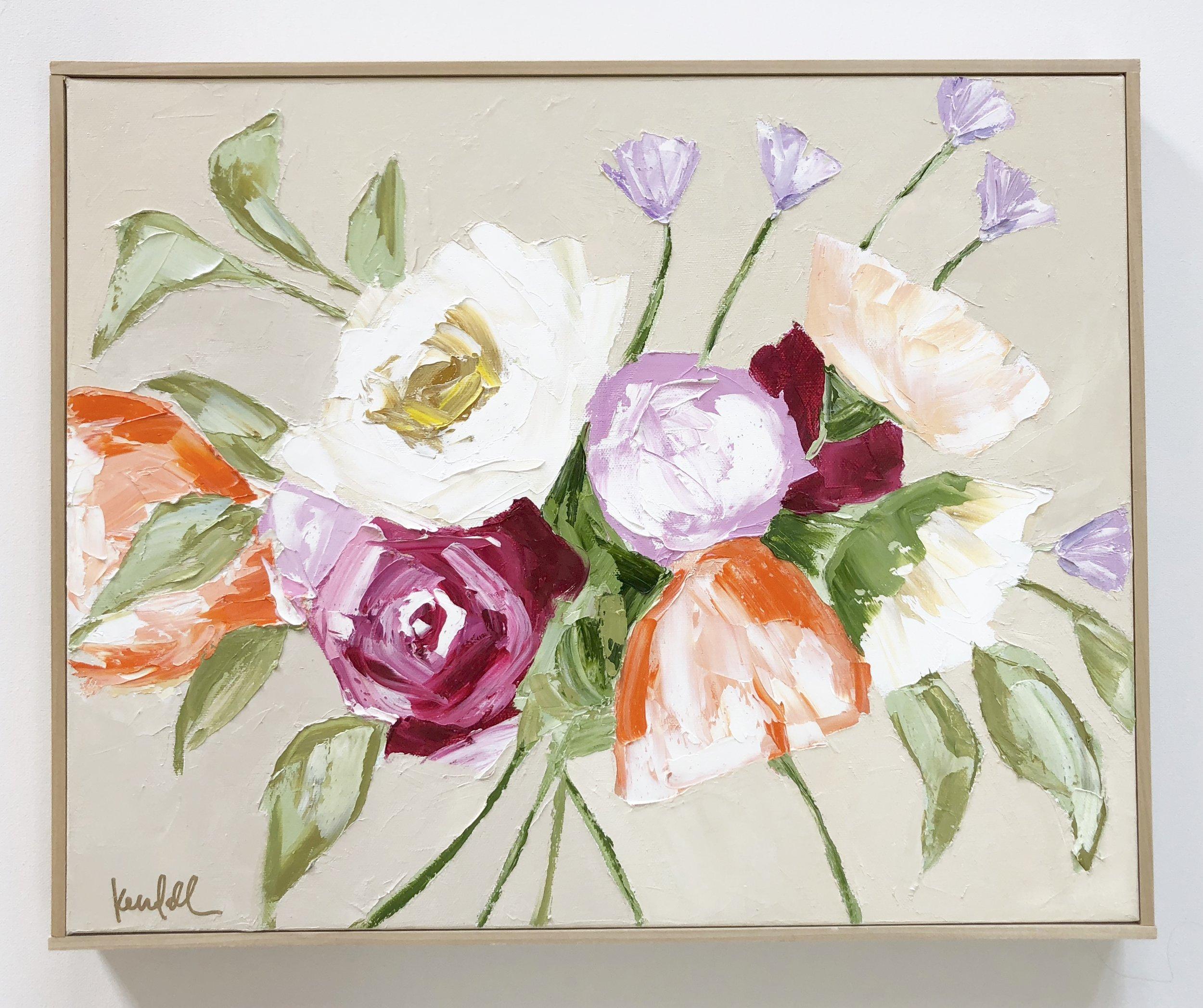 'Soft & Sweet' | 16 x 20 | $475