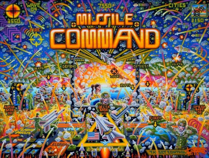 111 Missile Command 30x40 Nov 2014-Acrylic On Canvas SOLD Jason Shepard.jpg