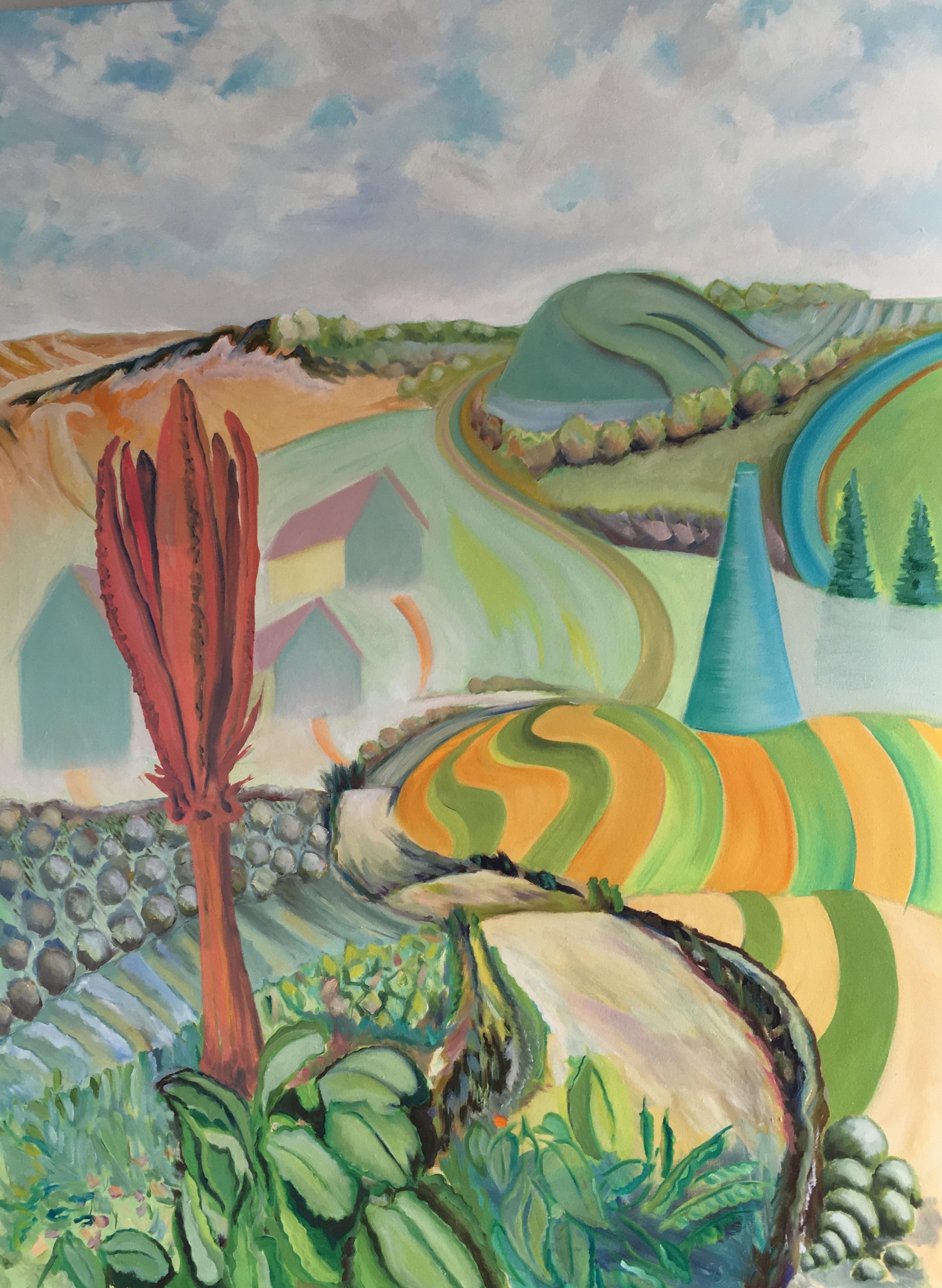 "Ridge Lea  30"" x 40""  Oil on Canvas"