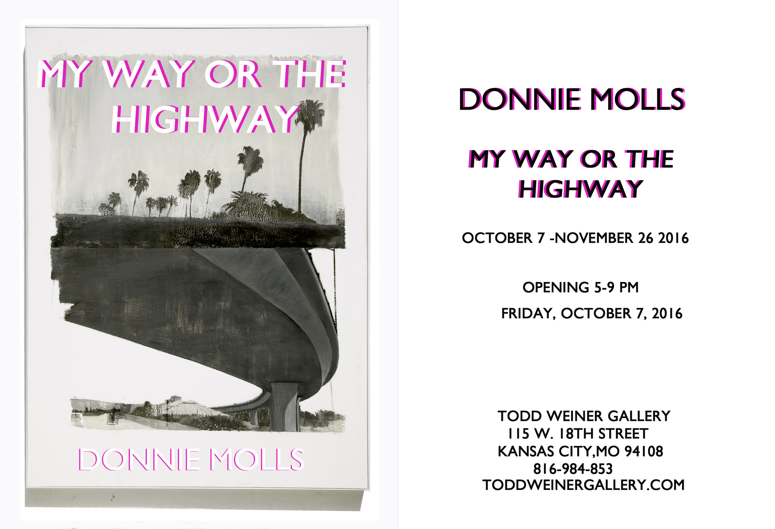 Donnie Molls - My Way or the Highway - October 2016