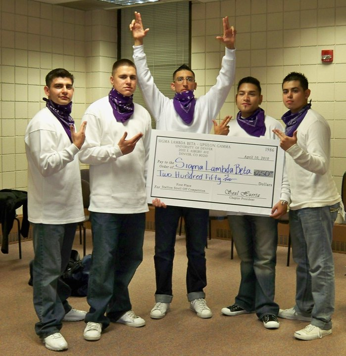 First place at Stallion Stroll Off in 2010.