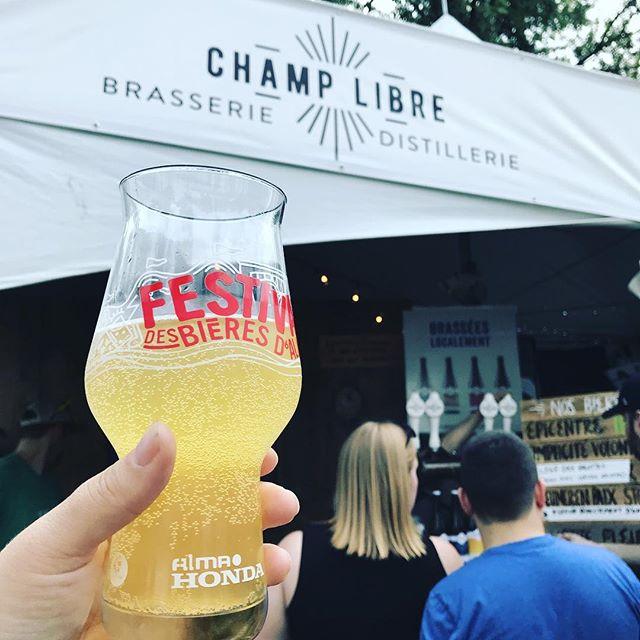 Chambly! #champlibre #biere