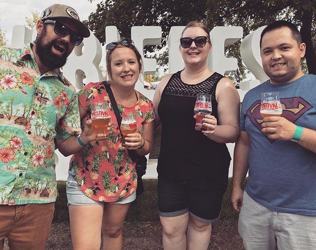 Bières et saveurs de Chambly! #bieres #havingfun #ondeguste #onfestivalise