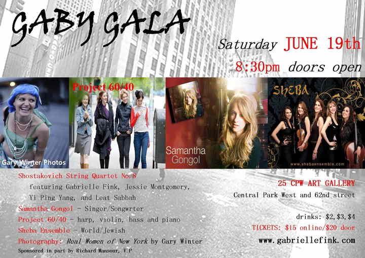 Gaby Gala CPW