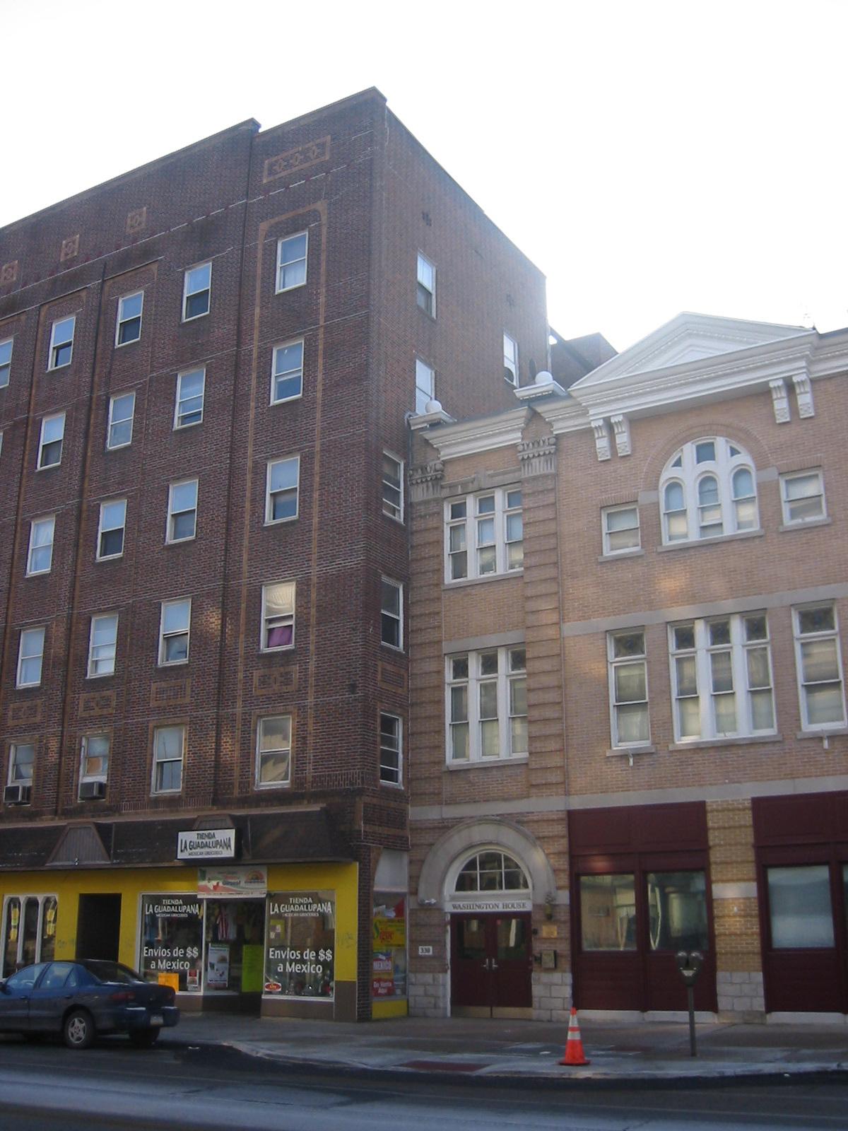 washington house apartments
